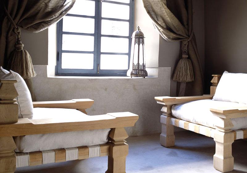 fauteuils moderne décoration marocaine