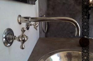 décoration et accessoires de salle de bain ambiance Maghreb