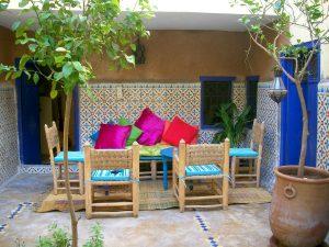 fauteuil marocain