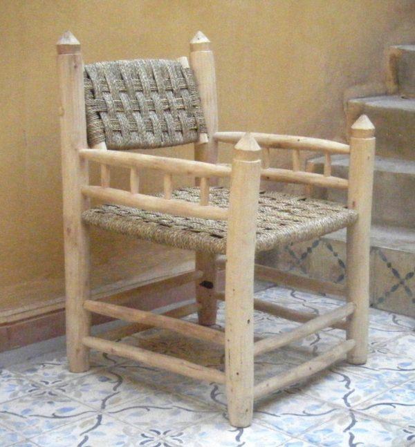 fauteuil traditionnel marocain