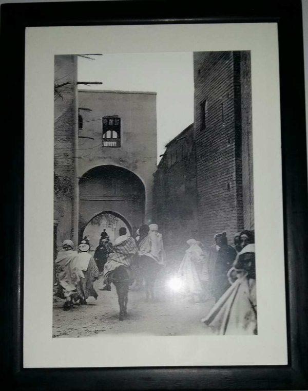 Photo scene de vie au Maroc