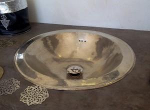 vasque maillechort