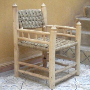 fauteuil traditionnel marocain