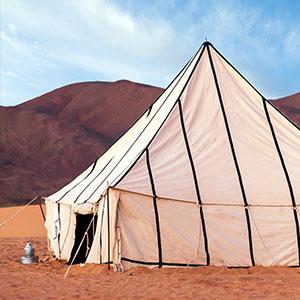 vente de tente caïdale sur-mesure