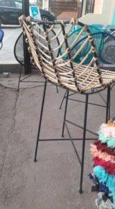 chaise bar squelette