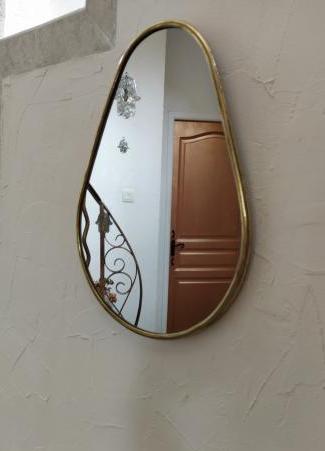 Miroir poire