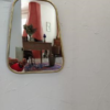 cadre miroir cuivre trapéze